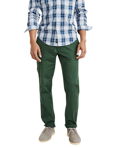 chino dark green uniqson 1