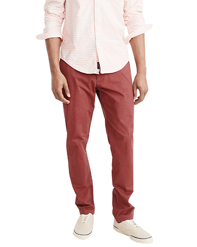 chino red bata uniqson 1
