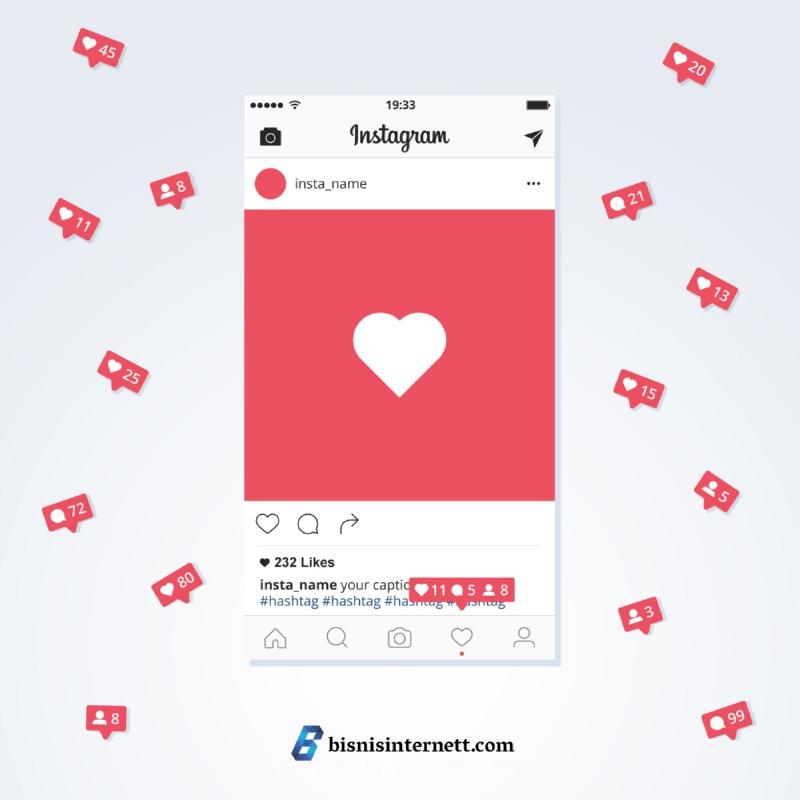 like instagram bisnis internett